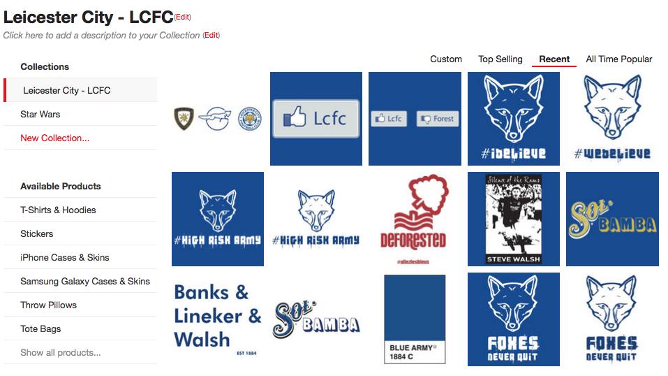 LCFC World Online Shop